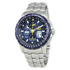 Citizen Skyhawk Blue Angels A-T Chronograph Perpetual Mens Watch JY8058-50L