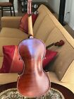 ANTIQUE CORNERS BLOCKED AMERICAN LABELLED FULL SIZE ACOUSTIC VIOLIN