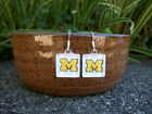 Michigan Wolverines Earrings University of Michigan Jewelry NCAA The Victors