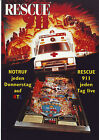 GOTTLIEB RESCUE 911 NOS PINBALL MACHINE FLYER BROCHURE RARE GERMAN VERSION 1994