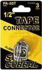 Fishock Polytape Connector 1/2 Inch,No PAHTS-FS,  Woodstream Corp,PK5