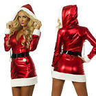 Mrs Miss Santa Claus Fancy Dress Costume Sexy Adult Christmas Women Party Outfit