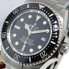 UNWORN ROLEX DEEPSEA SEA DWELLER 116660 STEEL 44 mm BLACK CERAMIC BEZEL