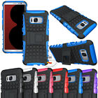 Heavy Duty Rugged Hybrid Shockproof Case Stand Dual Layer Protect Armor Cover