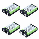 4x 800mAh Cordless Phone Battery for Panasonic HHRP107 HHR P107 HHRP107A 1B 36V