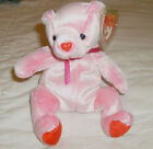 TY Beanie Babies ROMANCE Bear for Valentine's Day Date of Birth 2-2-01 New w/tag