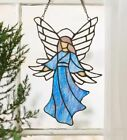 Angel Stained Glass Suncatcher Christmas Window Panel Tiffany Style Holiday G