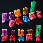 10 Pairs Fashion Silicone High heeled Shoes For Barbie Doll Christmas Gift Hot