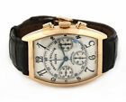 FRANCK MULLER CINTREE CURVEX 7850 CC CHRONOGRAPH 18K ROSE GOLD MENS WATCH