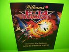 Williams F-14 Tomcat Original NOS 1987 Flipper Game Pinball Machine Promo Flyer