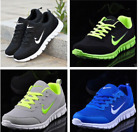 NEW MENS AND BOYS SPORTS TRAINERS RUNNING GYM SIZES FASHION SHOES