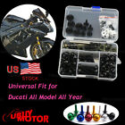 For Ducati 899 Panigale 2013-2019 Complete Fairing Bolts Kits Bodywork Screws