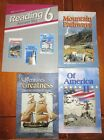 Abeka 6 Reading Answer Key Lot Adventures in Greatness Of America II Mountain