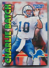 1999 STARTING LINEUP CHARLIE BATCH LIONS football card
