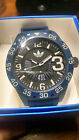 Adidas Men's Newburgh ADH3141 Blue Silicone Quartz Fashion Watch