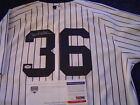 NEW YORK YANKEES CARLOS BELTRAN GAME USED SIGNED OPENING DAY JERSEY STEINER PSA