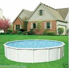 18 x 52 Round Above Ground Swimming Pool + Supreme Package Complete