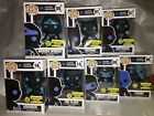 Funko POP! Justice League Silhouettes EE Exclusives SET OF 7 BATMAN Brand New!