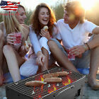 Portable Outdoor Picnics Grill BBQ Stove Folding Charcoal Camping Barbecue Oven