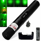 Strong 303 Green Beam 1mW 532nm Tactics Laser Pointer Pen+ 18650 Battery Charger
