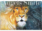 ORIGINAL HAND PAINTING ART PICTURE WATERCOLOR Wild Animals Lion A4 size