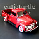 Welly 1953 Chevrolet 3100 Pick Up Truck 124 Diecast Model Toy Car 28087D Red
