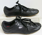 LACOSTE Sport Black Lace Up Low Top Athletic Sneaker Shoes Size 85
