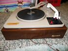 Vintage Garrard Autoslim Turntable 4 Speed Record Changer Clean with Wood Case