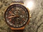 Men's Mido Rose Gold Plated Carbon Fiber-Look Dial COSC Chronometer