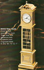 BULOVA Solid Brass Miniature Grandfather Clock New Castle B0552 PERFECT AS GIFT
