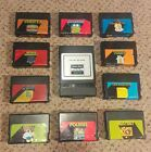 Vintage Computer TRS-80 Game Cartridges and Deluxe RS-232 Program Pak Bundle Lot