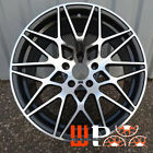19 inch M3 Style Wheels Fits BMW 1 2 3 4 Series 328 Machined Black