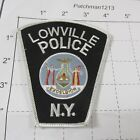 LOWVILLE POLICE DEPT LVPD LOW VILLE STATE SEAL TOMBSTONE COLORFUL NEW YORK PATCH