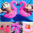 Inflatable Flamingo Drink Holder Pool Party Beer Cup Fruit Float Beverage Boat
