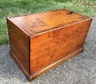 Primitive Hand Made Wooden ICE BOX Chest Cooler