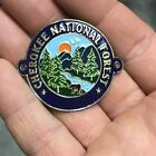 Cherokee National Forest walking Hiking Medallion NEW staff North Carolina