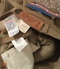 Vintage DeadStock Lee Rider Corduroy Brown Zipper Size 33x34 Made in USA