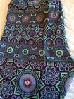 NWOT Lularoe TC Purple Mint Mosaic Medallion Glass Floral Leggings HTF Unicorn