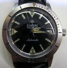 Vintage Mens Zodiac Sea Wolf Automatic Stainless Divers Wrist Watch