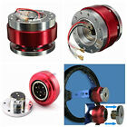 New Racing Car Steering Wheel Ball Quick Release Hub Adapters Snap Off Boss Kits