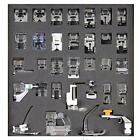 Tinksky 32pcs Domestic Sewing Machine Presser Foot Set for Brother Babylock...