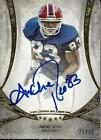 ANDRE REED SIGNED TOPPS 5 STAR FOOTBALL CERTIFIED AUTO FOOTBALL HOF AUTO 21 25
