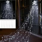 Star Lights with 12 Tree Top Star and 9 Stripes Little Stars 3 for Christmas