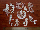 20 Tattered Lace + Little Mermaid CARD TOPPER die cut out Delicate Oceana Arial