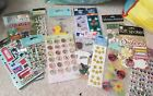 lot of stickers all NEW Great for back to school scrapbooking etc