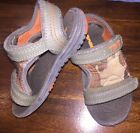 TEVA Toddler Water Beach Sandals Camoflage Sz 6 Good Condition