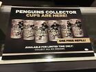 23X18 PITTSBURGH PENGUINS COLLECTORS CUP SIGNED DISPLAY LETANG NEAL FLEURY JSA