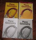 Abeka 10th 11th Grade Plane Geometry Set With Student Books No missing Pages