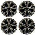 18 Ford Taurus 2010 2011 2012 Factory OEM Rim Wheel 3817 PVD Chrome Set
