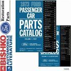1973 Ford Car Ford Bronco Parts Numbers Book List CD Interchange Images
